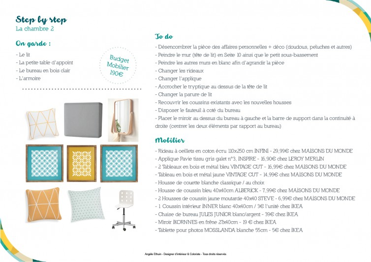 Home staging - step by step pour cette chambre d'ado