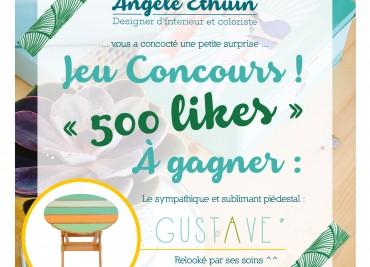 * Concours * Le piédestal relooké «Gustave»