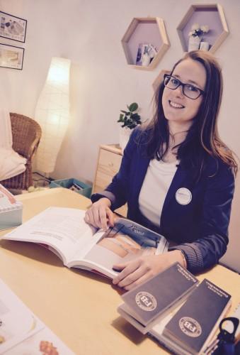 Angèle Ethuin était au salon de l'Habitat d'Abbeville 2016