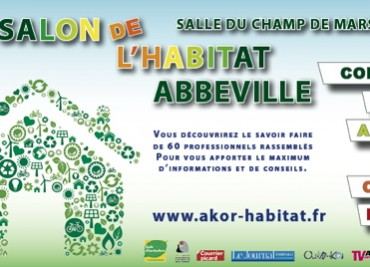 Participation au salon de l'habitat d'Abbeville 2016