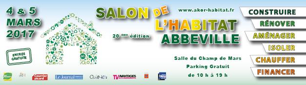 Affiche du salon de l'Habitat 2017 d'Abbeville