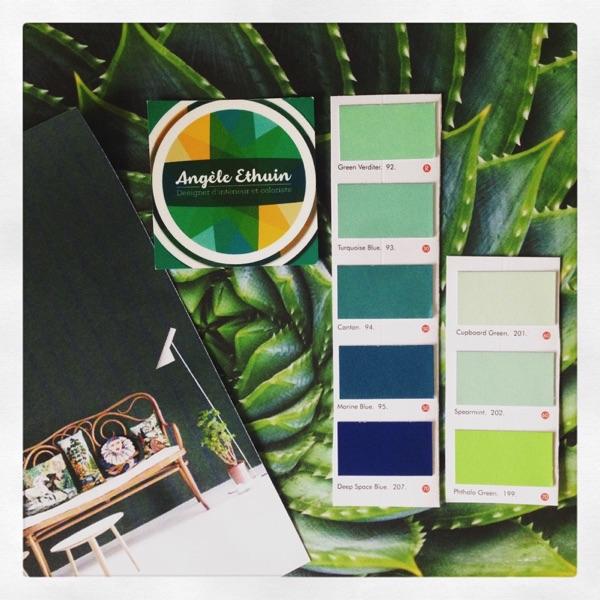 Inspiration tendance vert émeraude par Angèle Ethuin Designer d'intérieur & Coloriste