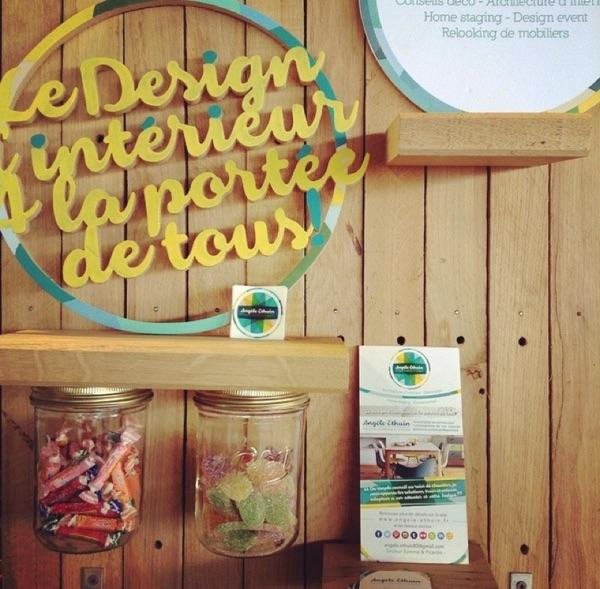 Présentoir fait-maison en bois recyclé par Angèle Ethuin - Pourquoi faire appel a un designer d'interieur